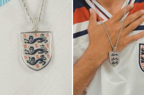 Cernucci Drop the Official England Pendant for Euro 2020