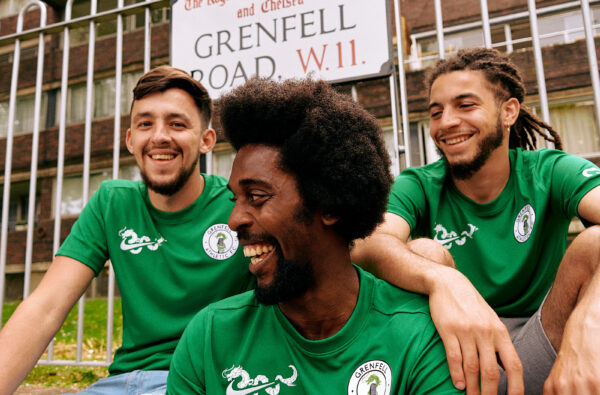 Nike Fuse the Swoosh with Grenfell FC's Dragon Motif on the Club's Bespoke 2021-22 Home Shirt