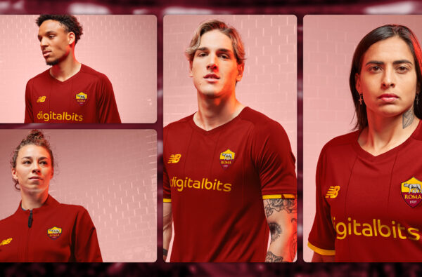New Balance Launch AS Roma's 21-22 Home Kit