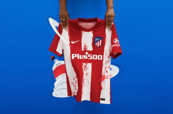 Nike Celebrate 75th Anniversary of Atletico Madrid's Current Name with 21/22 Home Shirt