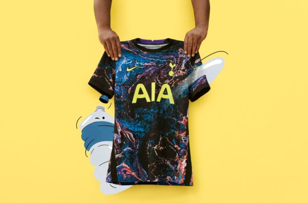 Nike and Tottenham Hotspur Release an Experimental Away Kit in Tribute to North London's Creative Community