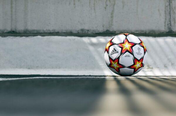 adidas Unveil The Fiery 21/22 Champions League 'Pyrostorm' Match Ball