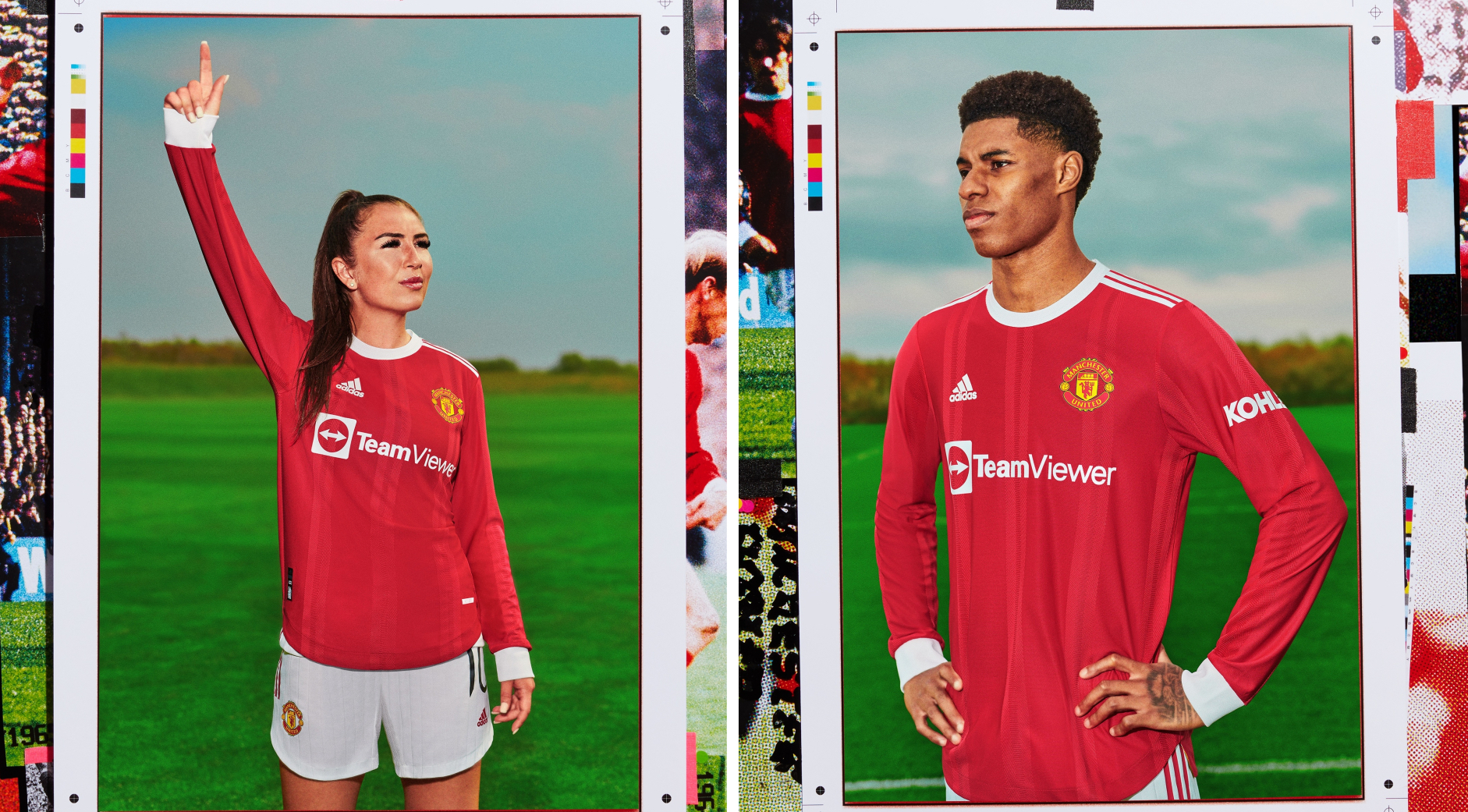 adidas and Manchester United Dive into the Archives for a New 60s-Inspired Home Kit