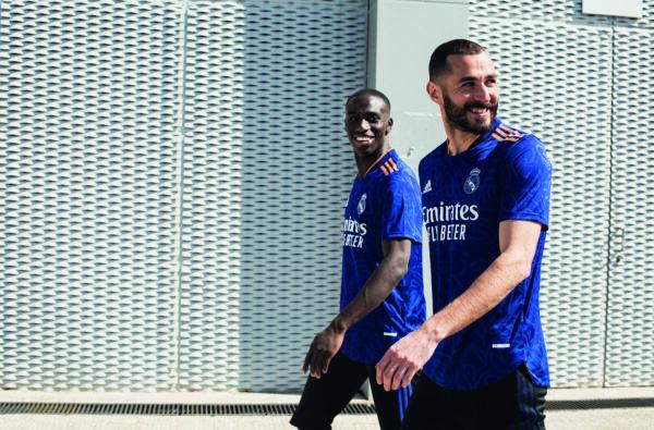 adidas Spray Real Madrid's 2021/22 Away Jersey with Graffiti Prints