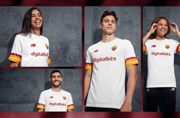 New Balance Unveil AS Roma's Super Clean Away Kit for 2021/22