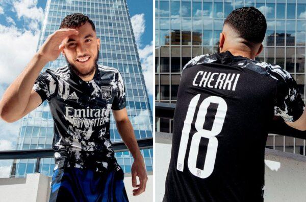 adidas Go Bold for Lyon's Striking 2021/22 Third Jersey