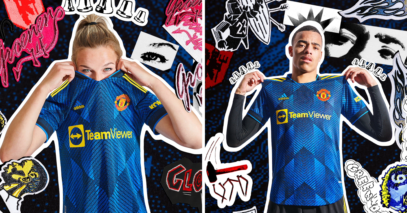 adidas and Manchester United's 21/22 Third Shirt Taps Into The Club's Appetite for Success