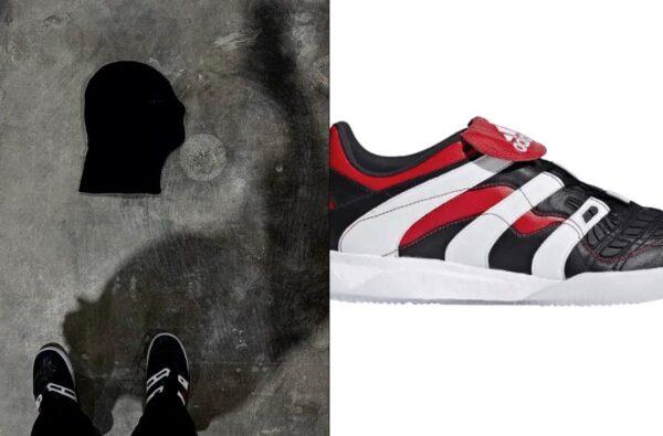 Kanye West is Recording 'DONDA' Wearing adidas Predator Accelerators