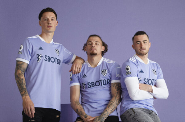 adidas and Leeds United Drop Their Clean Purple 21/22 Third Kit