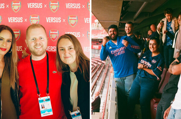 VERSUS and Arsenal FC Linked Up to Host 'New Beginnings', a VIP Experience Celebrating the New WSL Season