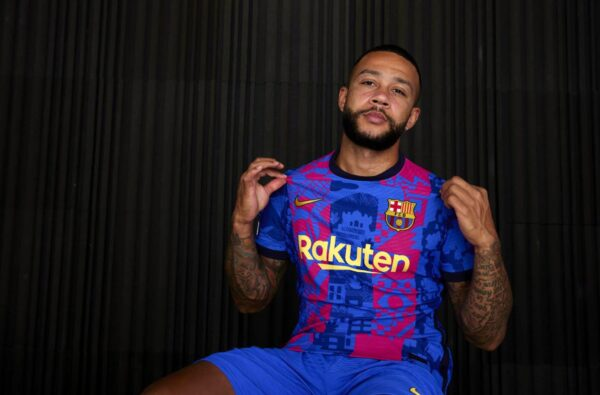 Nike and FC Barcelona Unveil a Futuristic Third Kit to be Worn in the Champions League