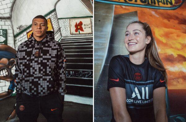 Nike and PSG's 2021/22 Black Third Kit Celebrates Their All-Star Squad