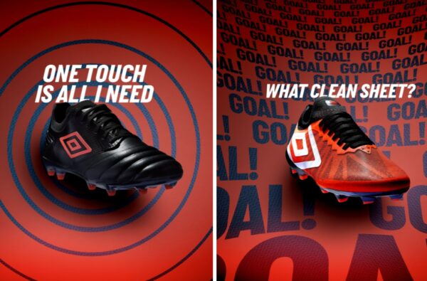 Umbro Launch New Tocco Pro and Velocita Pro Football Boots for Grass Roots Ballers