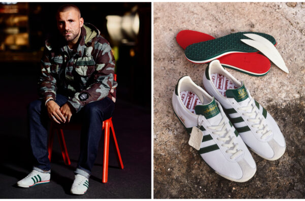 Luke Shaw Links Up With adidas and C.P. Company to Mark the Label's 50th Anniversary