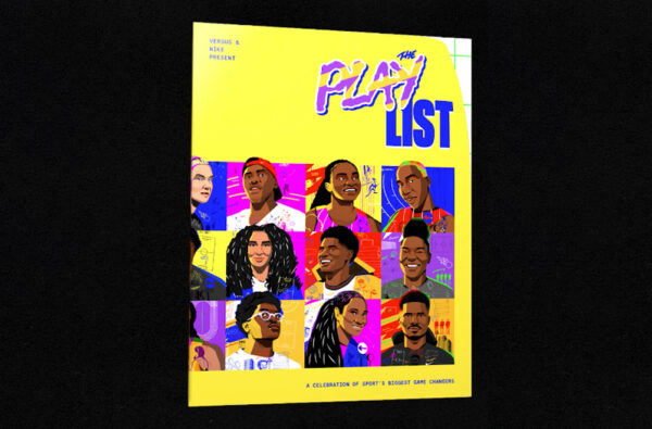 VERSUS and Nike Drop 'The Play List', a Zine Celebrating the Biggest Game Changers in Sport